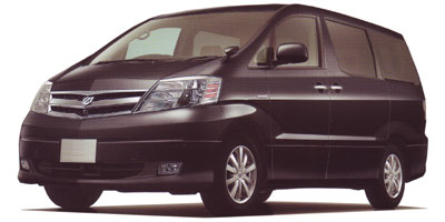 トヨタ アルファードハイブリッド 2003年モデル