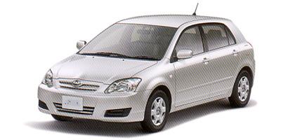 トヨタ アレックス 2001年モデル
