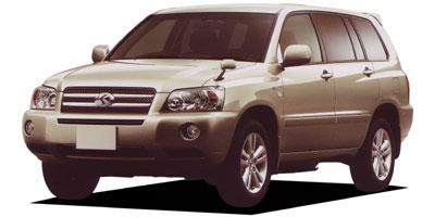 トヨタ クルーガーハイブリッド 2005年モデル