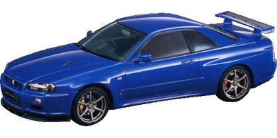 日産 スカイラインGT-R 1999年モデル