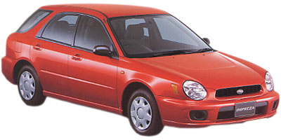 スバル インプレッサスポーツワゴン 2000年モデル