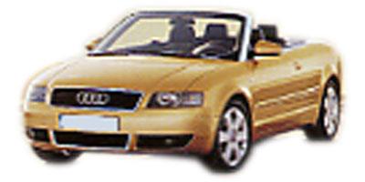 アウディ A4カブリオレ 2002年モデル